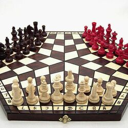 Jigsaw puzzle: Unusual chess