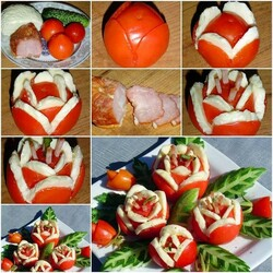 Jigsaw puzzle: Tomato decorations