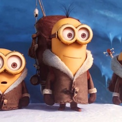 Jigsaw puzzle: Minions in the Arctic