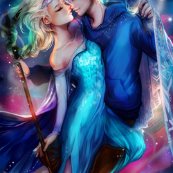 Jigsaw puzzle: Elsa and Jack