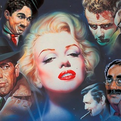Jigsaw puzzle: Marilyn and her friends