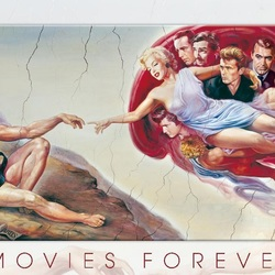 Jigsaw puzzle: Cinema forever
